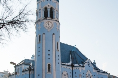 Elisabethkirche-Blaue-Kirche