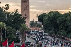 Djemaa el Fna - Gauklermarkt in Marrakesch